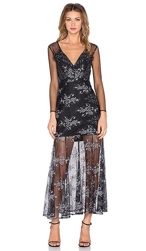 Lovers + Friends Mystic Maxi Dress in Slate
