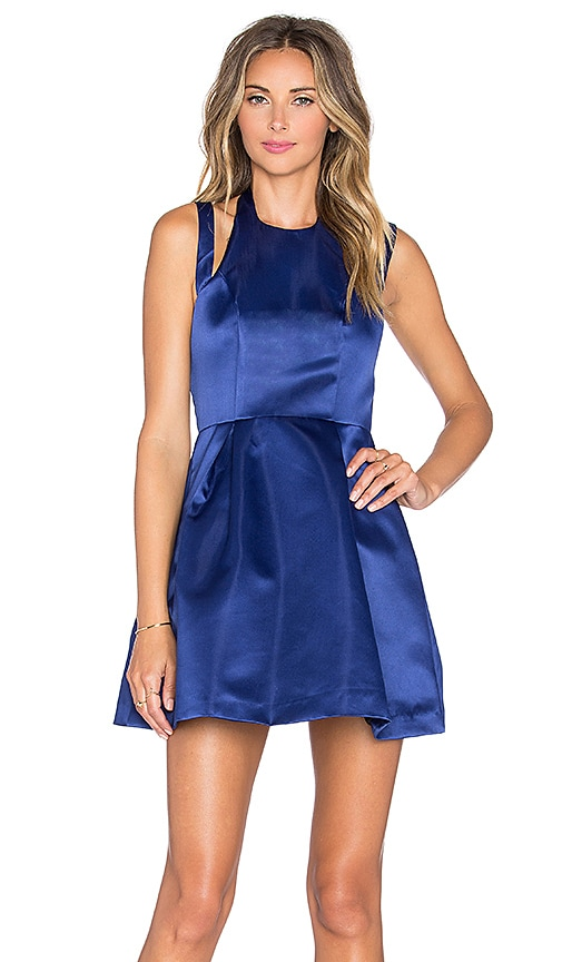 Lovers + Friends x REVOLVE Mega Fit & Flare Dress in Navy
