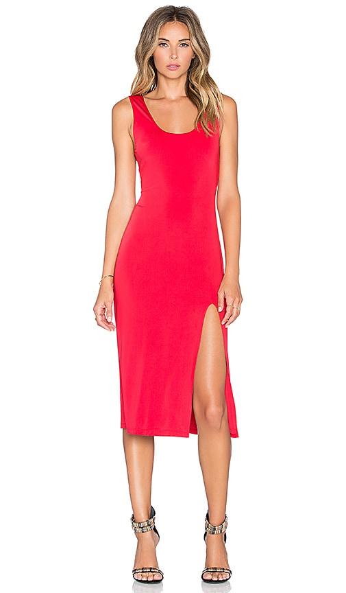 Lovers + Friends x REVOLVE Perfect Midi Dress in Red