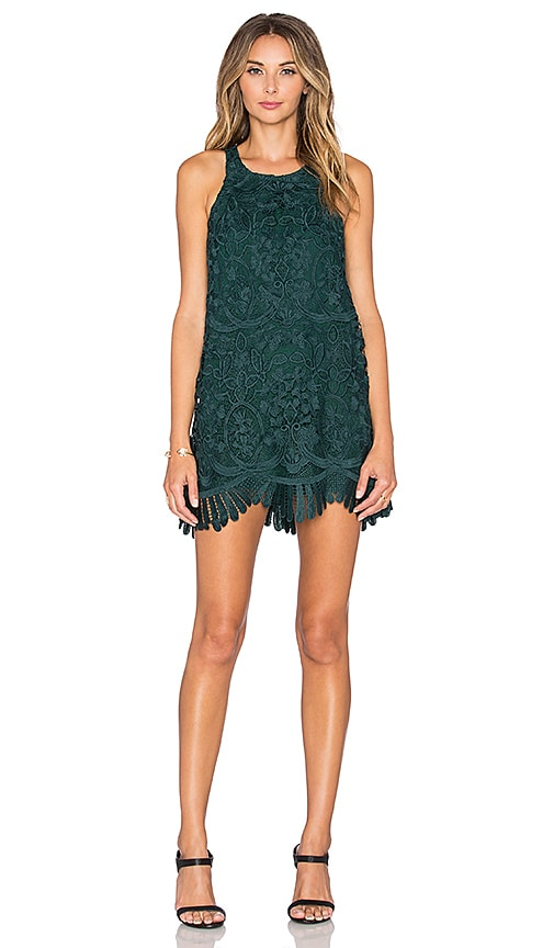 Lovers + Friends x REVOLVE Caspian Shift Dress in Green