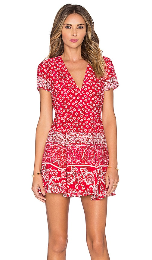 Lovers + Friends x REVOLVE Cassidy Dress in Red Scarf