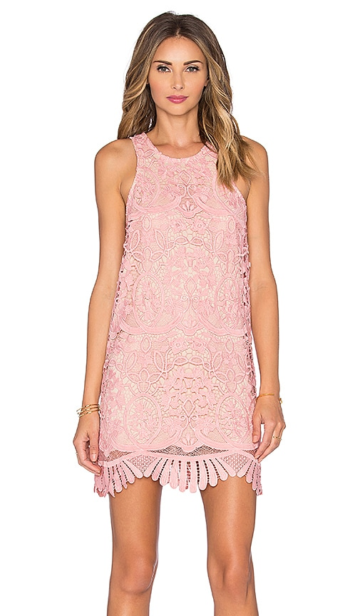 Lovers + Friends x REVOLVE Caspian Shift Dress in Pink