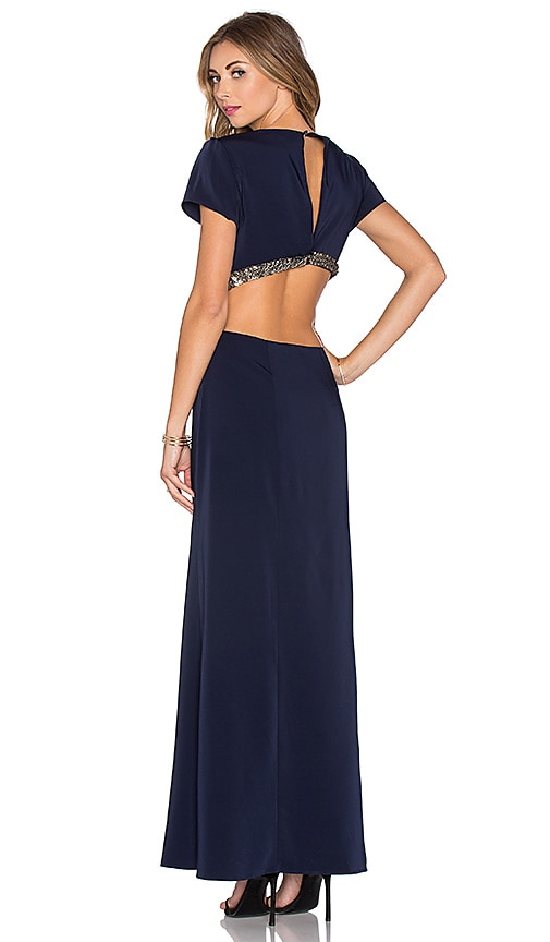 Lovers + Friends x REVOLVE Adaline Gown in Navy