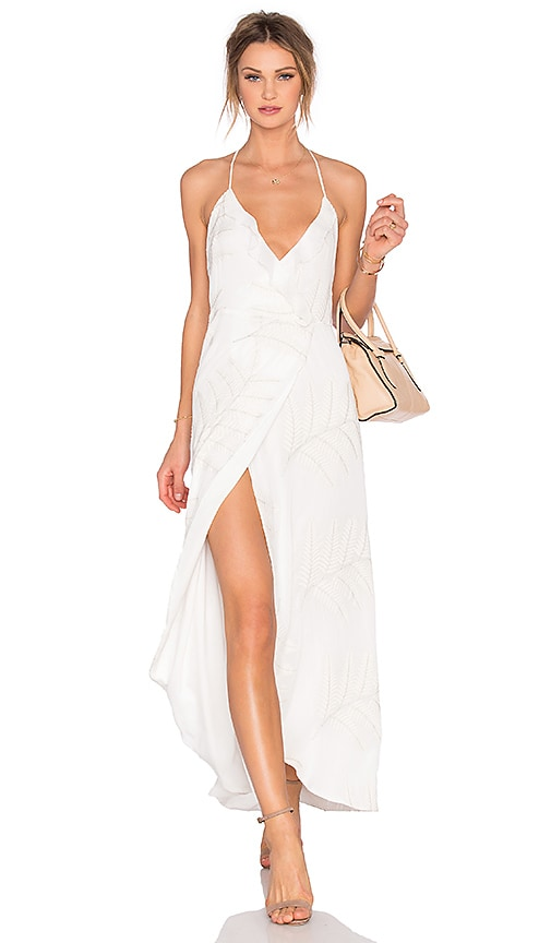 Lovers + Friends Nostalgia Maxi Dress in White