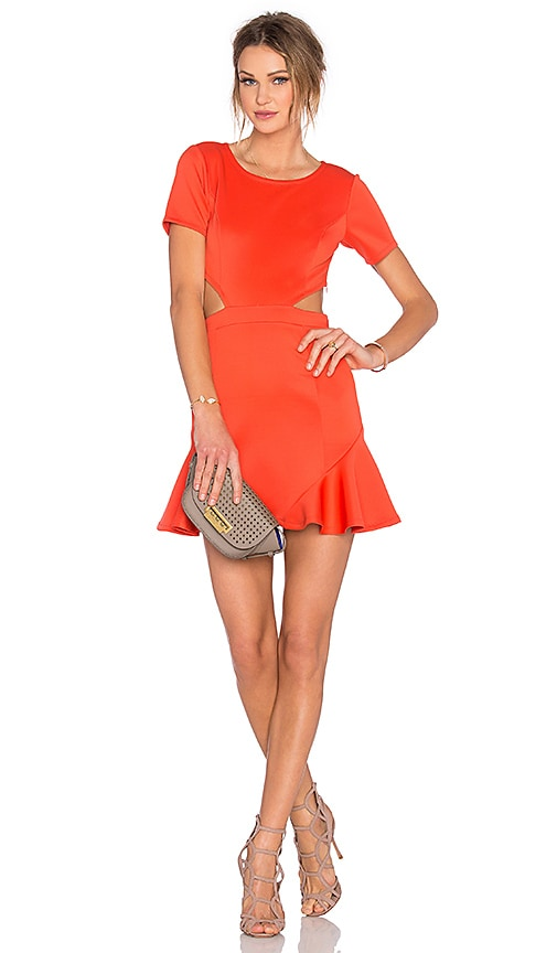 Lovers + Friends x REVOLVE Eternal Dress in Orange