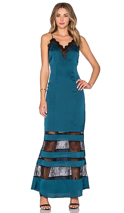 Lovers + Friends x REVOLVE Rosie Maxi Dress in Teal