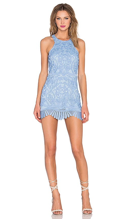 Lovers + Friends Caspian Shift Dress in Blue