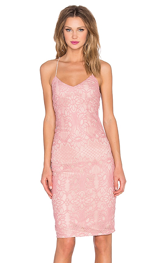 Lovers + Friends x REVOLVE Romance Me Dress in Pink