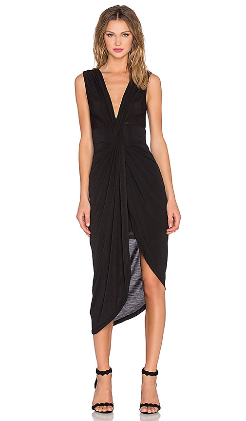 Lovers + Friends x REVOLVE Knot Dress in Black