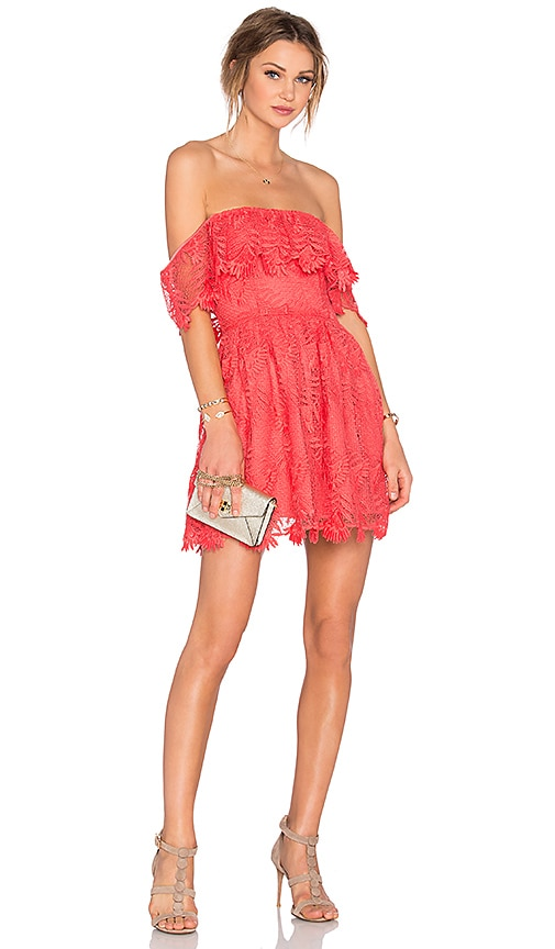 Lovers + Friends Dream Vacay Dress in Orange
