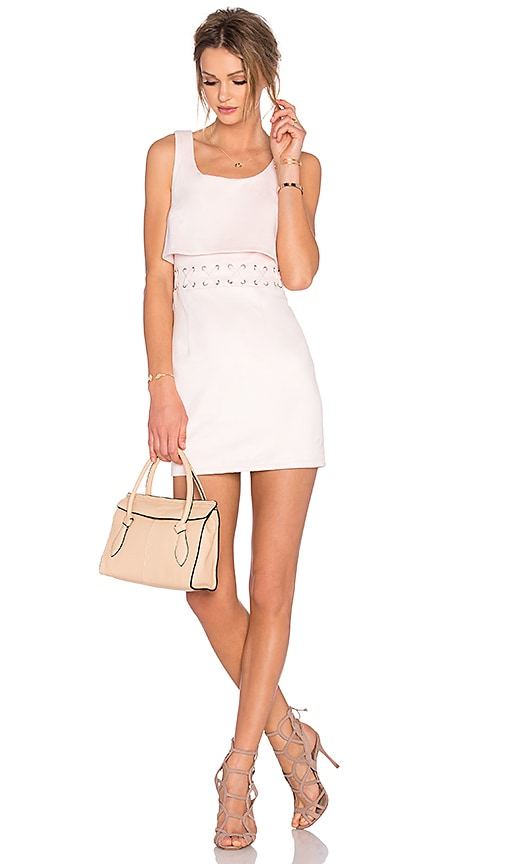 Lovers + Friends Pristine Dress in Blush