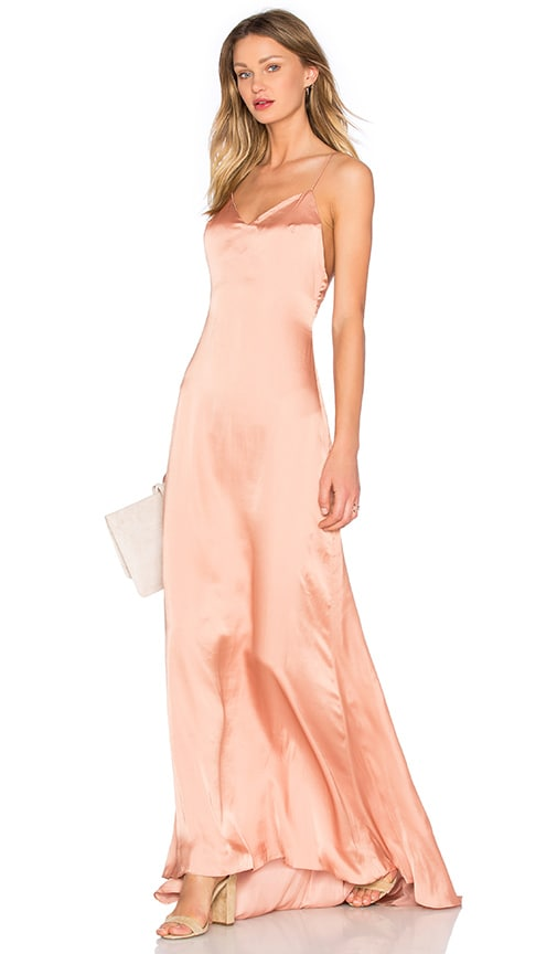 x REVOLVE The Slip Dress in Blush. - size 0 (also in 2,4,6,8) Lovers + Friends