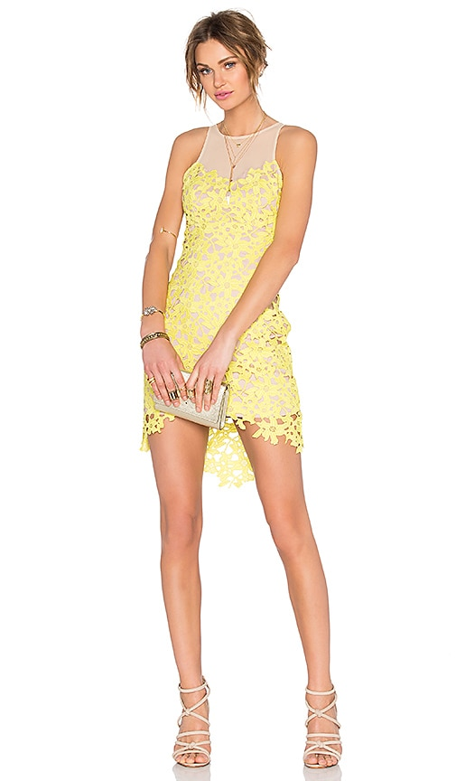 Lovers + Friends Larissa Dress in Yellow