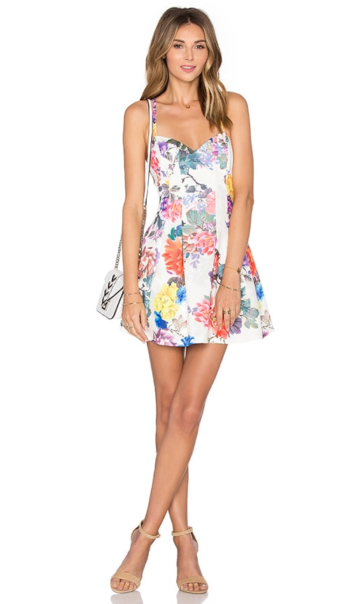 x REVOLVE Abbie Fit & Flare Dress