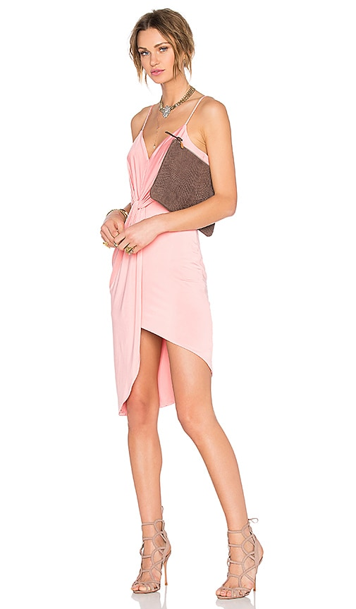 Lovers + Friends x REVOLVE Love Knot Dress in Peach