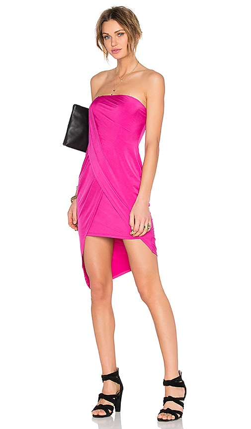 Lovers + Friends x REVOLVE Some Like It Hot Dress in Fuchsia