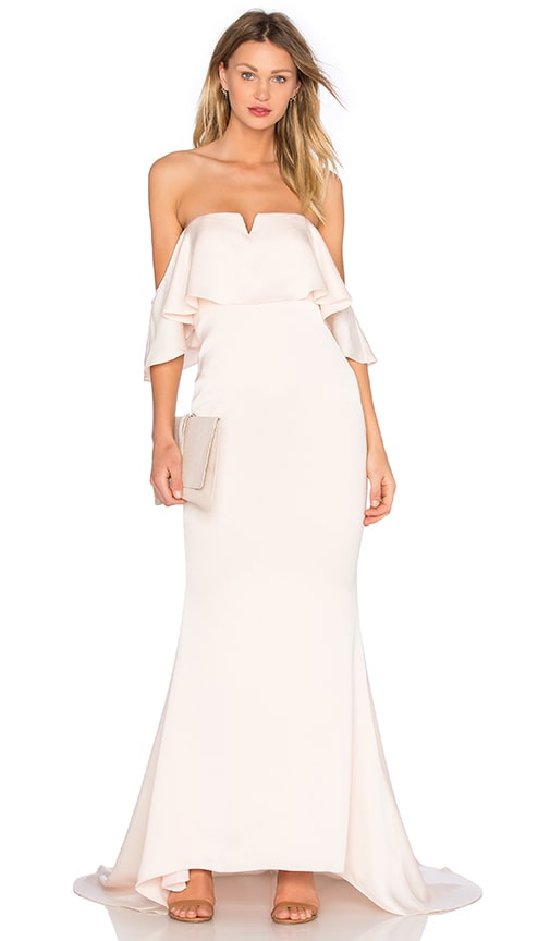 Lovers + Friends x REVOLVE The Santa Barbara Dress in Blush