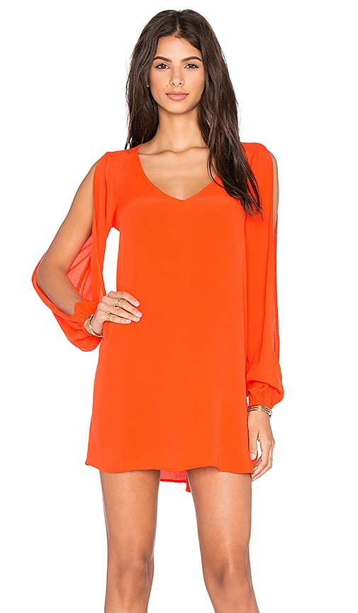 Lovers + Friends Gracie Dress in Coral Reef