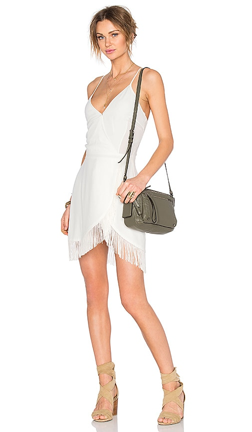Lovers + Friends Saturn Mini Dress in Ivory