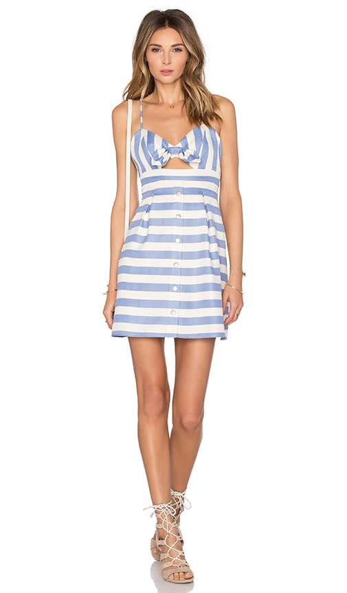 Lovers + Friends x REVOLVE Ocean Waves Mini Dress in Blue