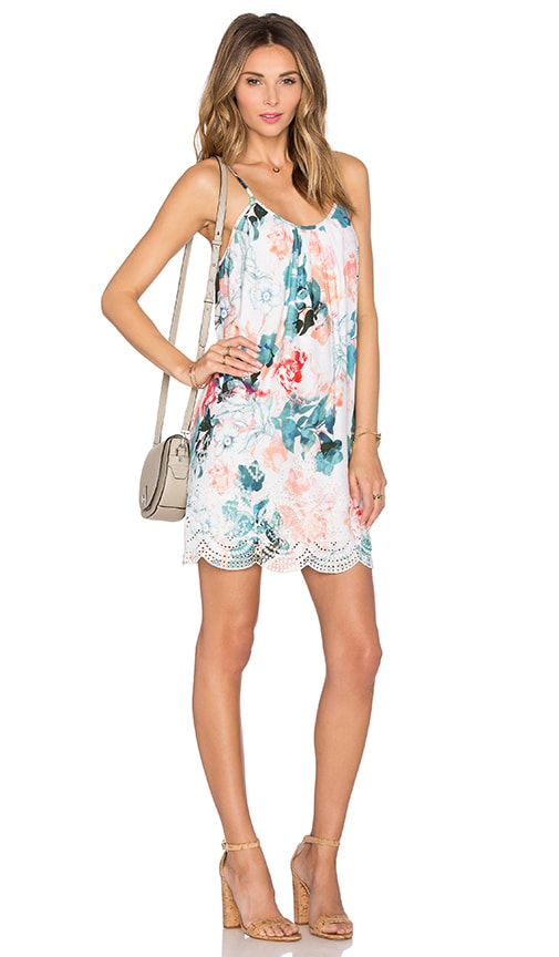 Lovers + Friends Fly Away Mini Dress in Paradise Floral