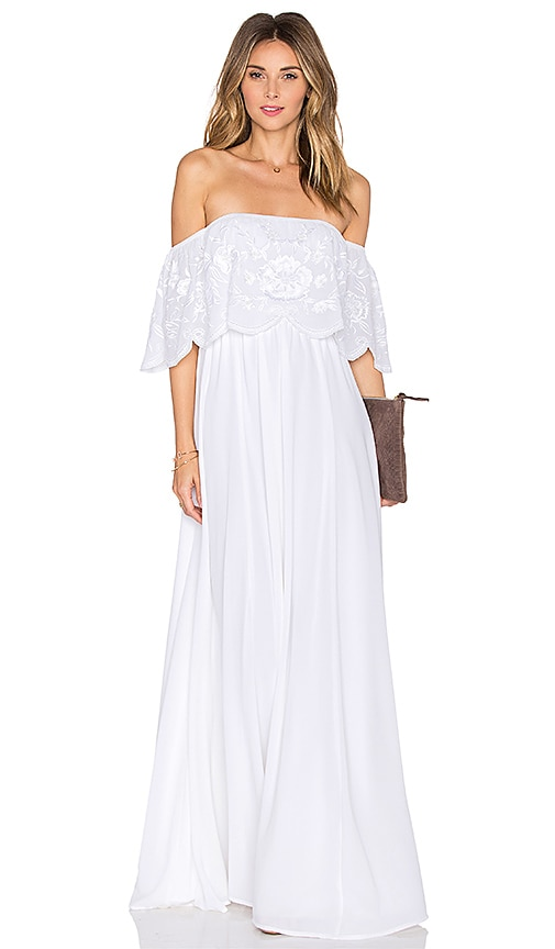 Lovers + Friends x REVOLVE The Hawaii Dress in White  73bf1469302d