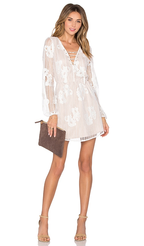 Lovers + Friends Haiden Dress in White
