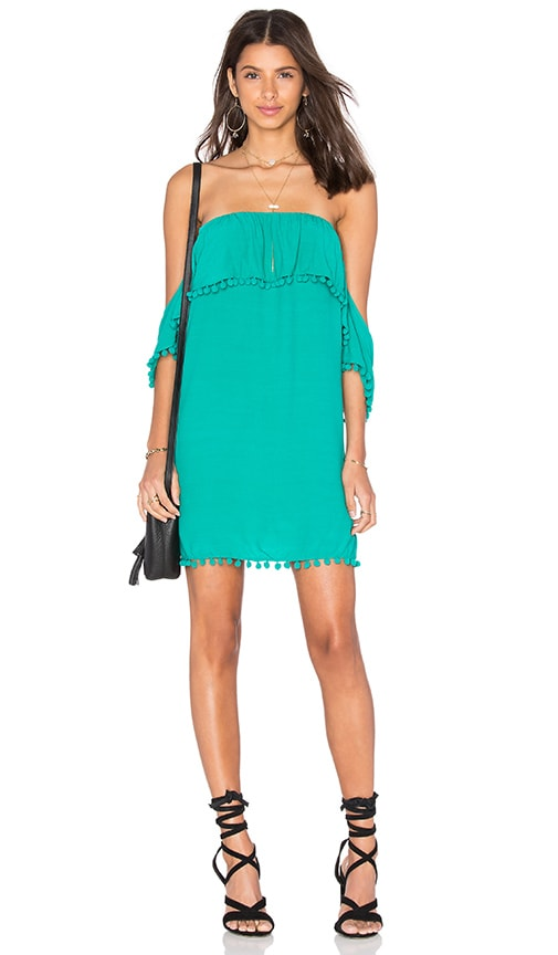 Lovers + Friends Villa Dress in Green