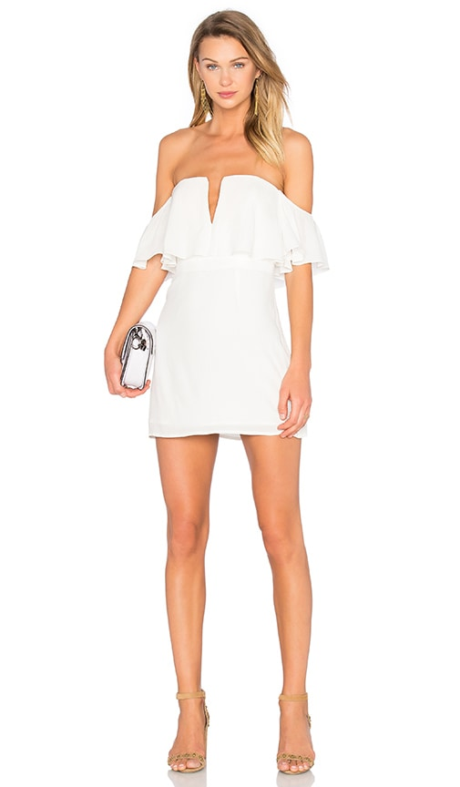 Lovers + Friends Primrose Dress in White