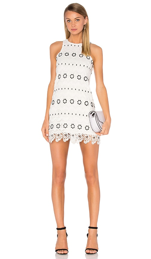 Lovers + Friends Caspian Shift Dress in White