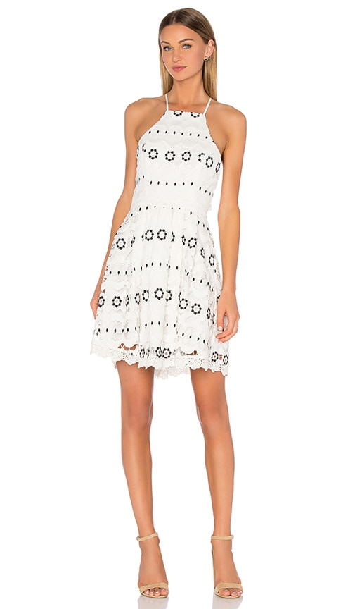 Lovers + Friends Forget Me Not Dress in White