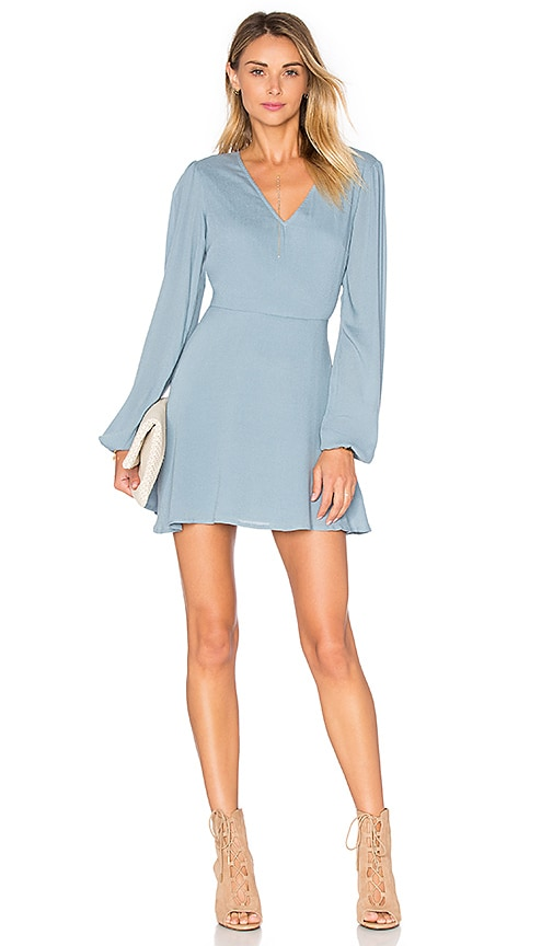 Lovers + Friends Shimmy Dress in Blue