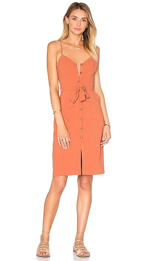 Lovers + Friends Marina Dress in Rust