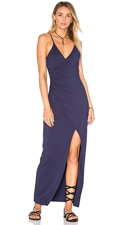 Lovers + Friends Crossroads Dress in Navy