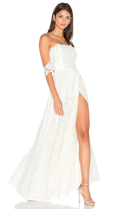 Lovers + Friends x REVOLVE Vienna Gown in Ivory