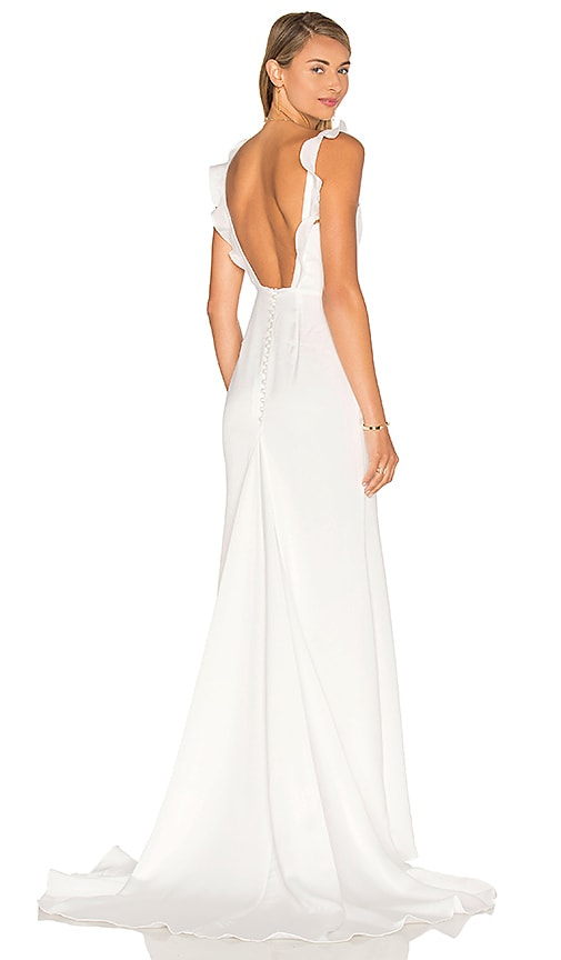 Lovers + Friends x REVOLVE California Gown in White