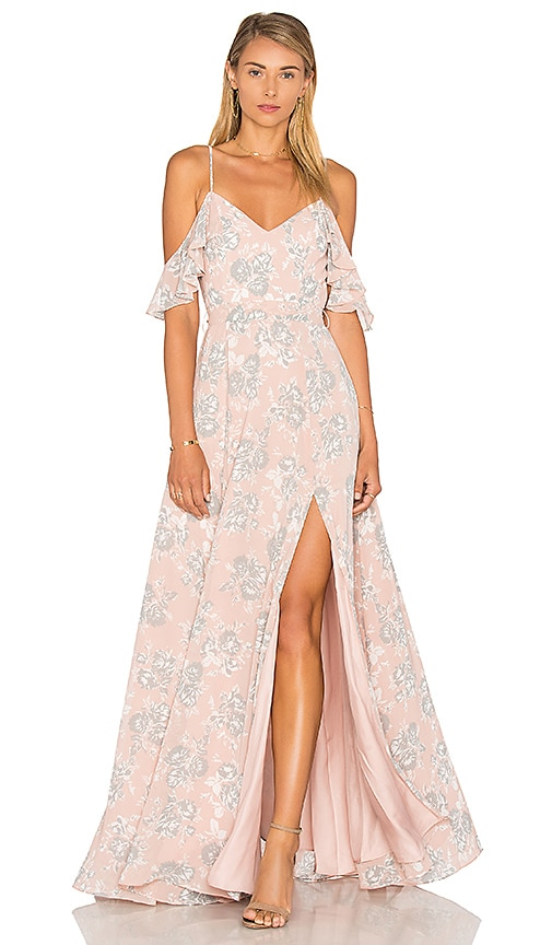 Lovers + Friends x REVOLVE Taylor Gown in Blush