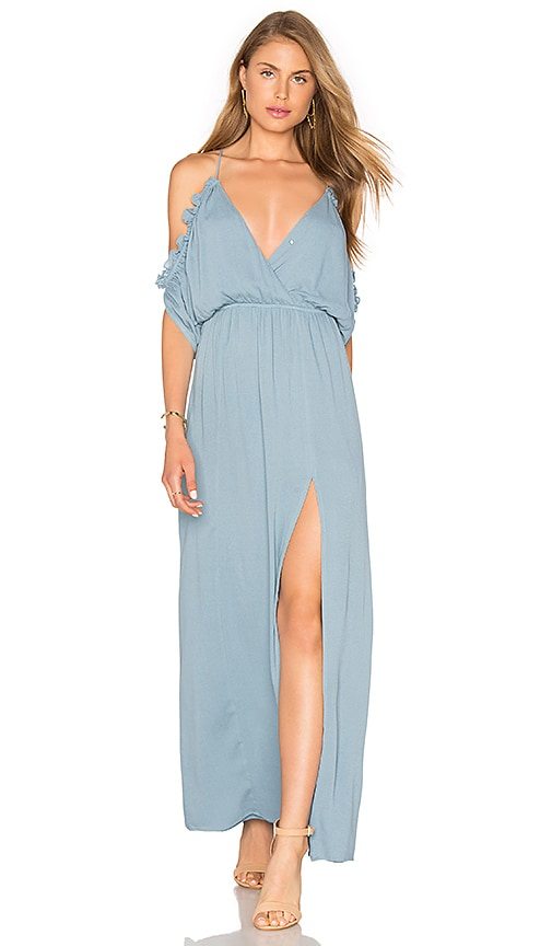 Lovers + Friends Effortless Maxi Dress in Blue