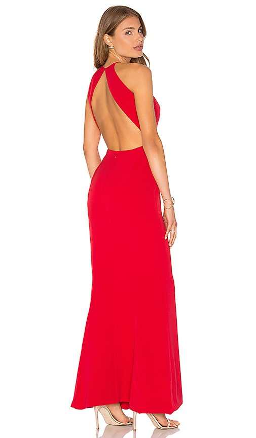 Lovers + Friends x REVOLVE Claudia Gown in Red