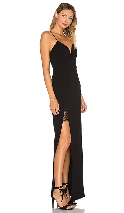 Lovers + Friends Cordoba Maxi Dress in Black