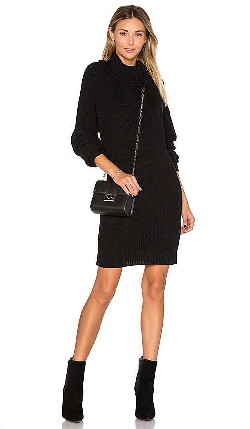 Lovers + Friends Christina Sweater Dress in Black