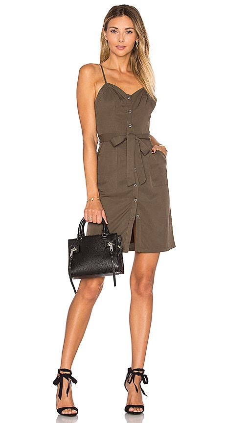 Lovers + Friends Marina Dress in Olive