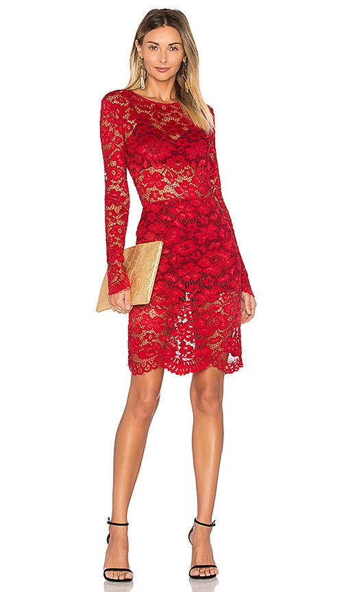 Lovers + Friends Dream Girl Dress in Red