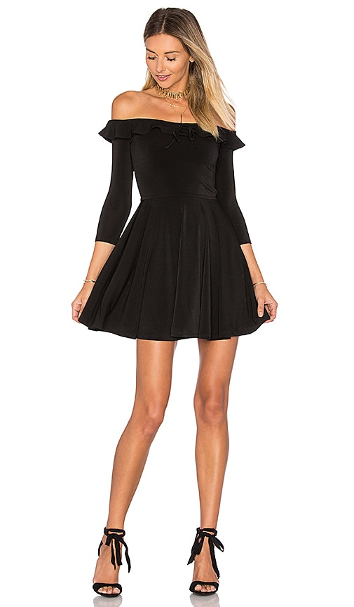 Lovers + Friends Gabbie Dress in Black