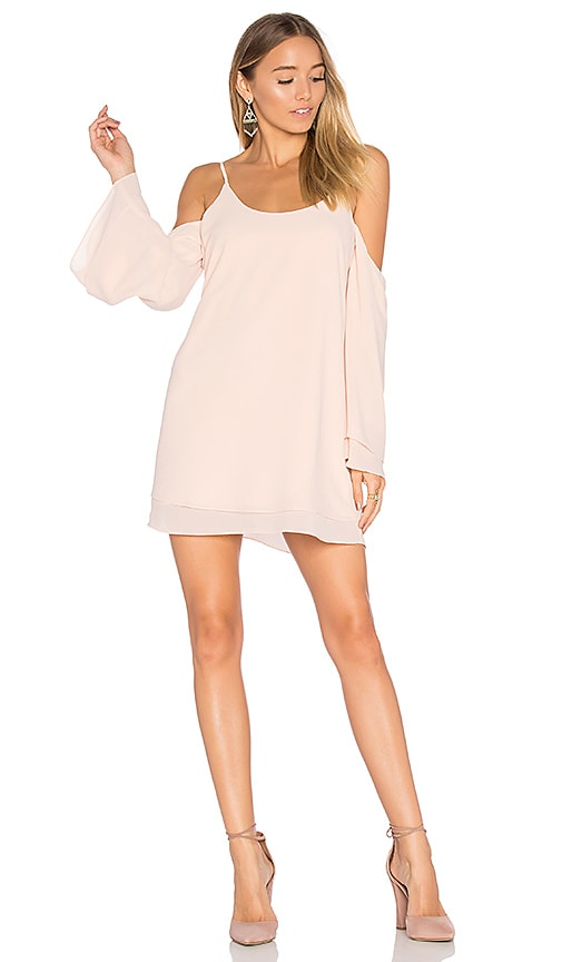 Lovers + Friends x REVOLVE Lucy Dress in Blush