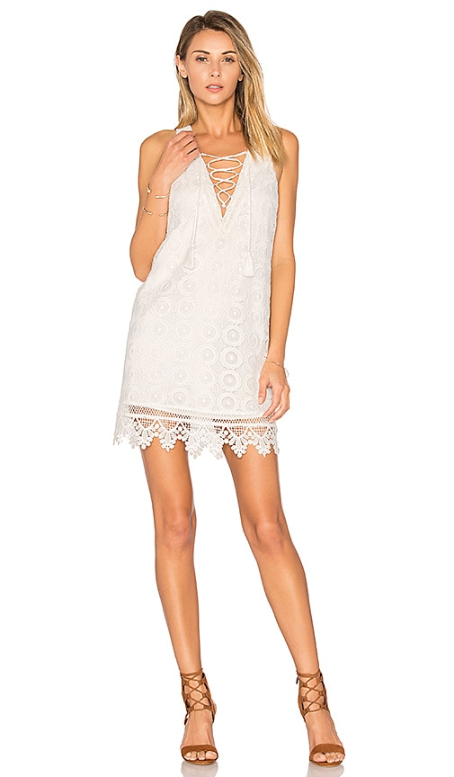 Lovers + Friends Escape Dress in White