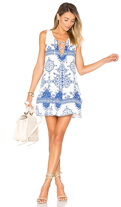 Lovers + Friends Temple Dress in White