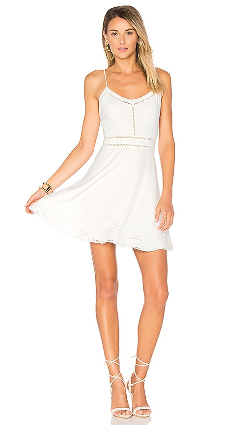 Lovers + Friends Daphne Dress in White