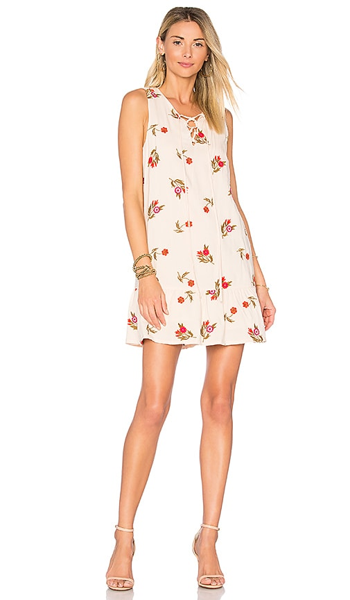 Lovers + Friends Cross My Heart Dress in Cream