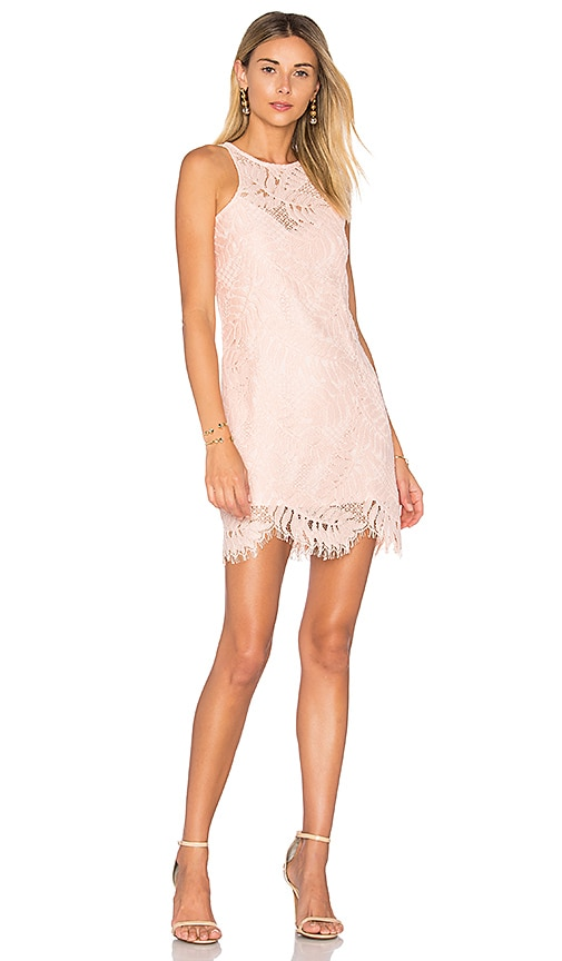 Lovers + Friends Sky Shift Dress in Coral